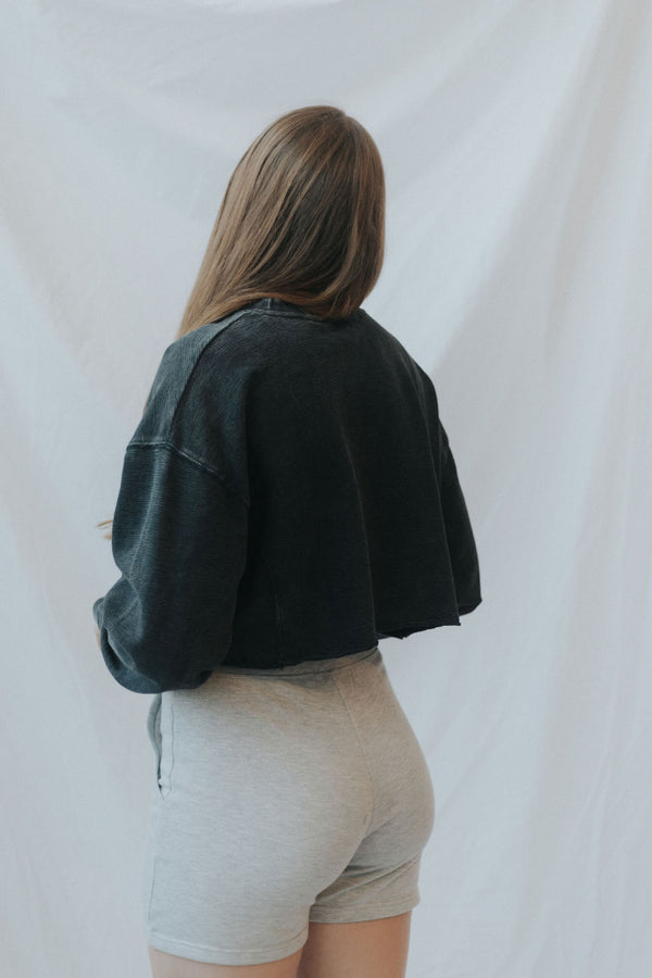Ronica Cropped Sweatshirt - 4 colors!