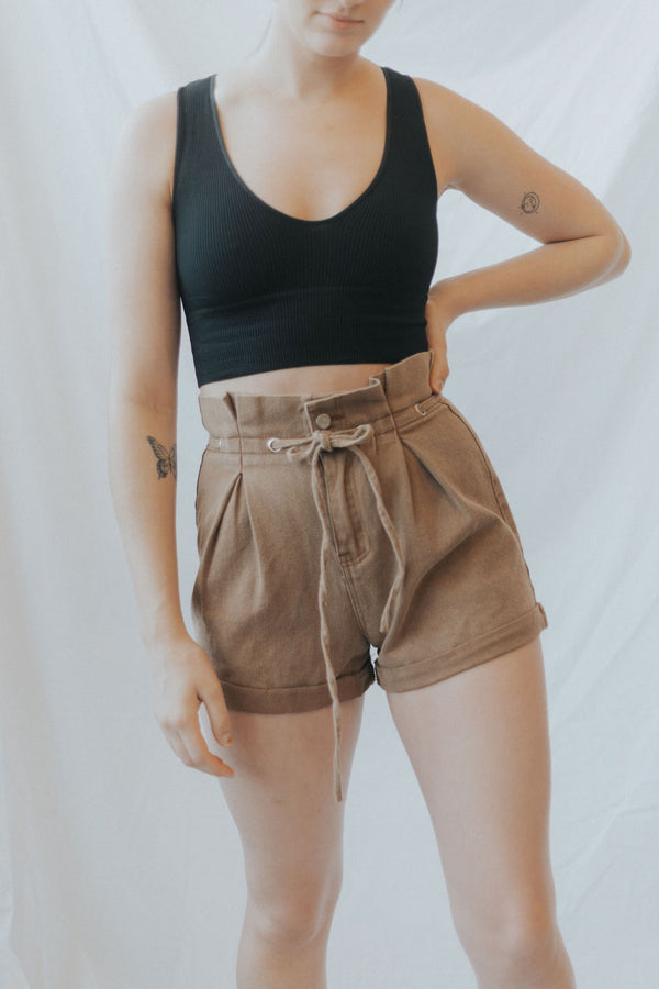 Union Paper Bag Shorts
