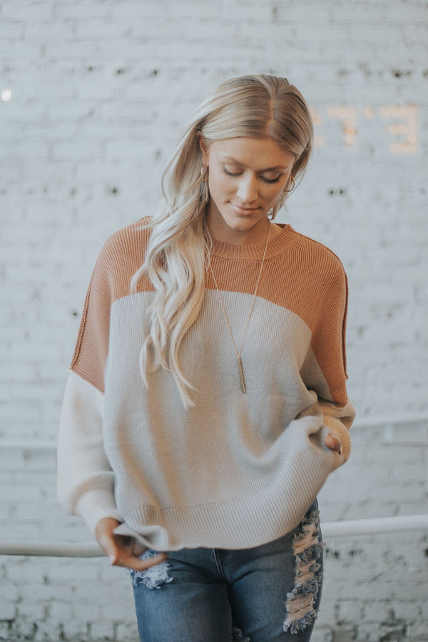 Kaia Colorblock Sweater