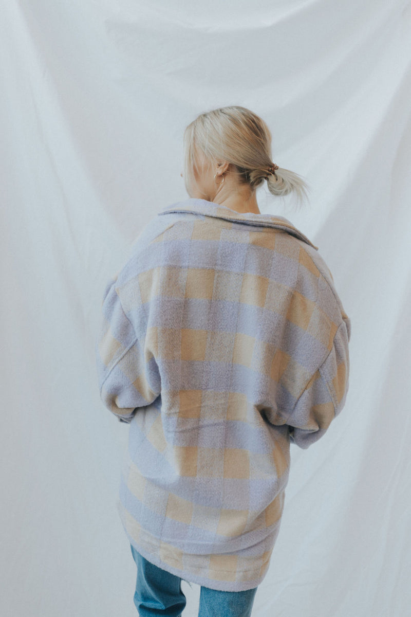 Cameron Plaid Shacket