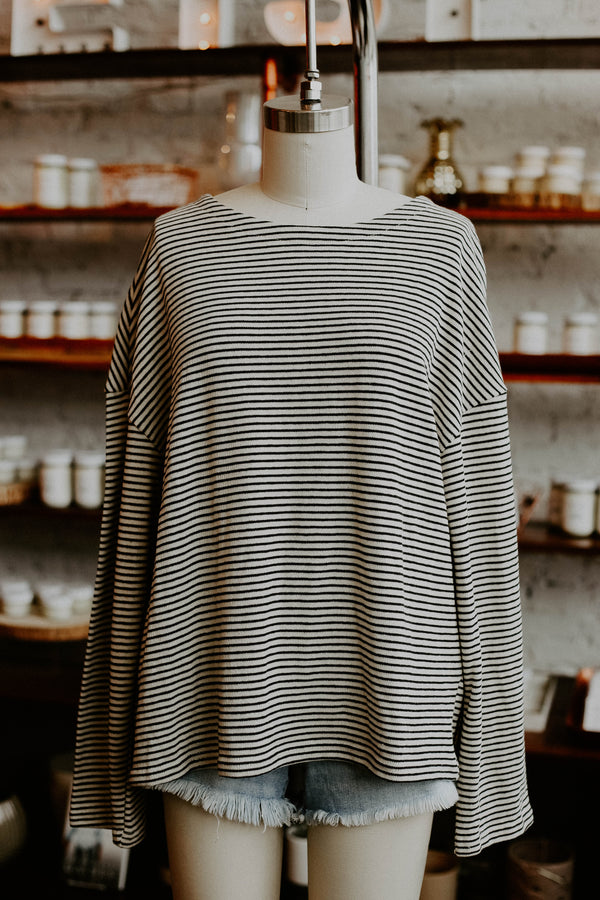 Mari Stripe Top