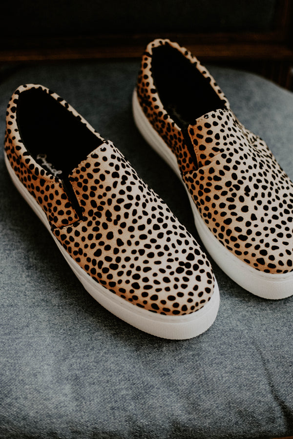 Royal Cheetah Sneakers