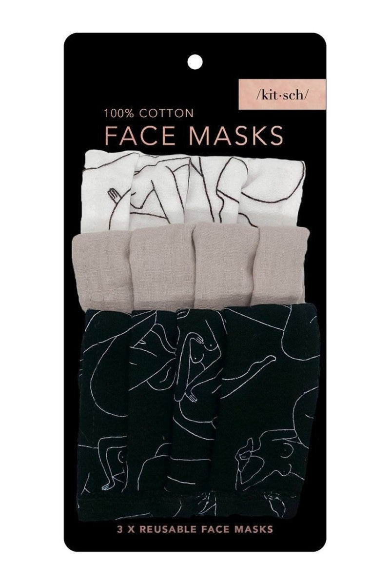 Kitsch Face Mask Set