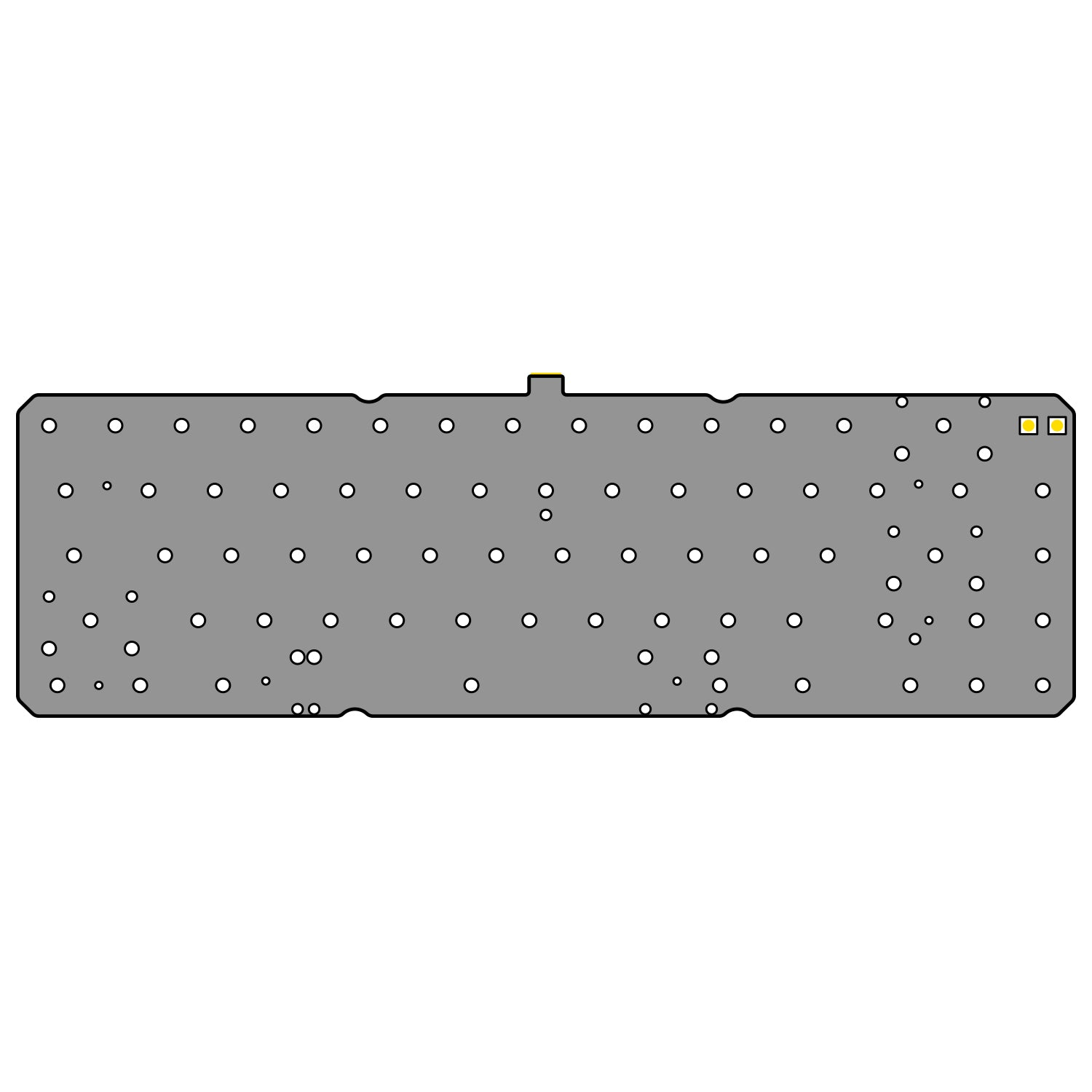 [GB] Extra PCB & Plate of Think 6.5 V2