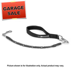 Chew-Proof Leader Leash - 5' long, Cable-Filled, Medium Duty (Garage Sale Item)