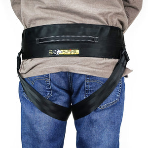 Alpine Outfitters® Canicross & Skijor Belt With Detachable Leg Loops
