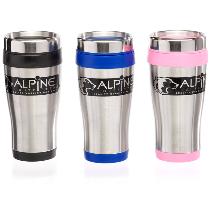 Alpine Outfitters Travel Mug, Stainless Steel