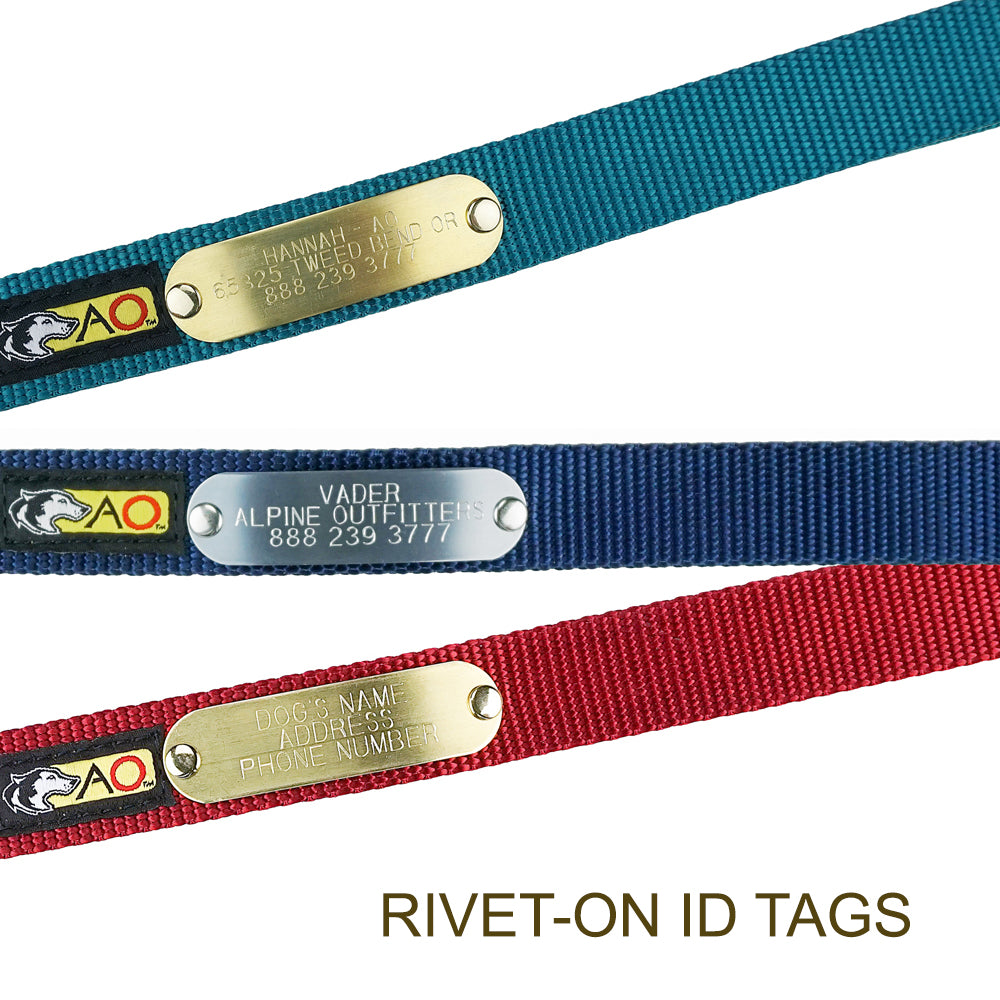 ID TAGS FOR COLLARS