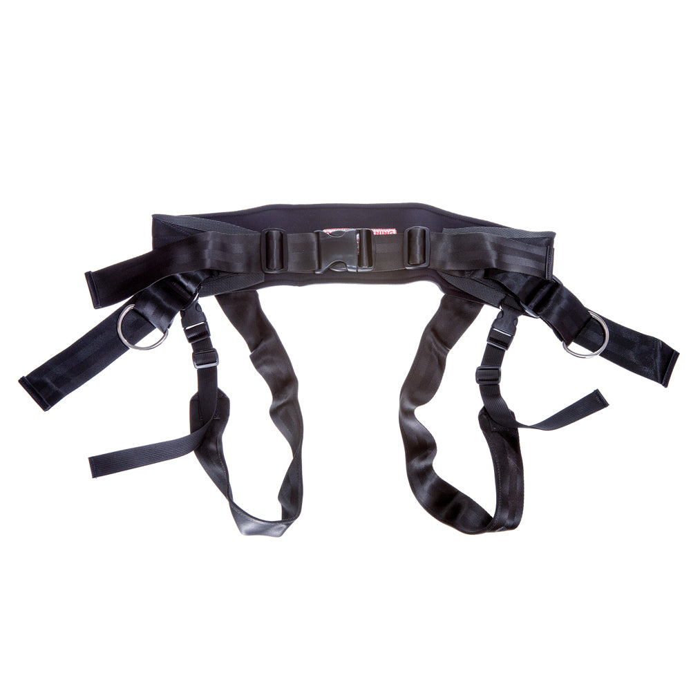 Skijor Belt With Leg Loops