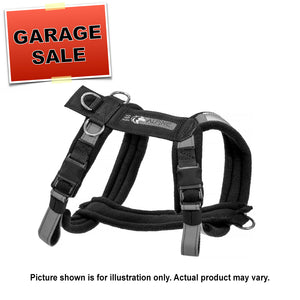 Adjustable Urban Trail Harness - Ready-to-go Size Small Blue 3/4 Inch Webbing (Garage Sale Item)