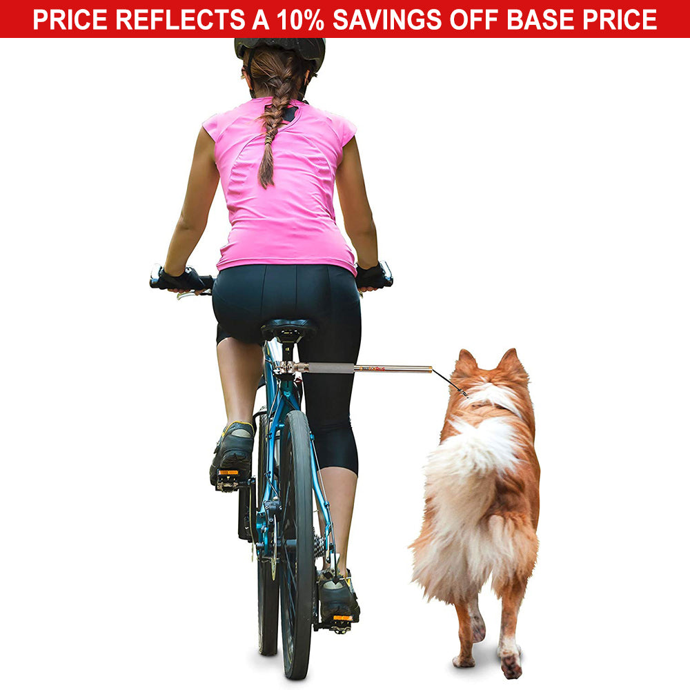 WalkyDog Universal Bicycle Leash & Harness Package