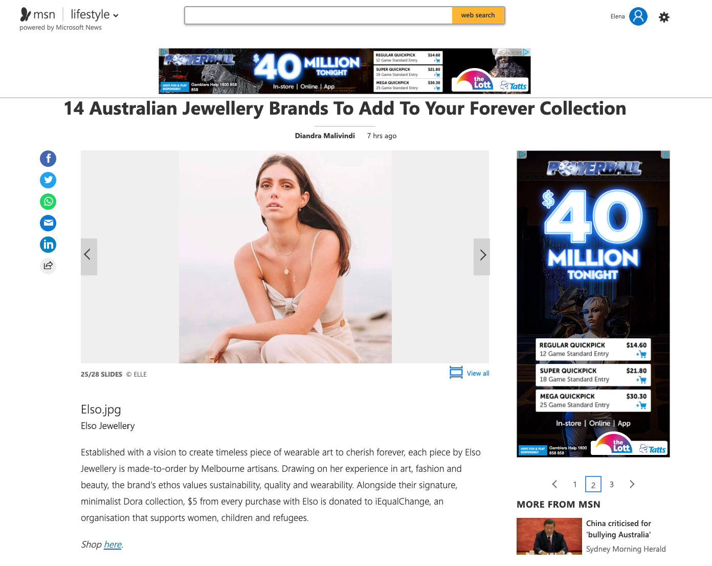 14 Australian Jewellery Brands To Add To Your Forever Collection