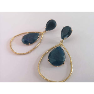 Jaded Bluebird Earrings