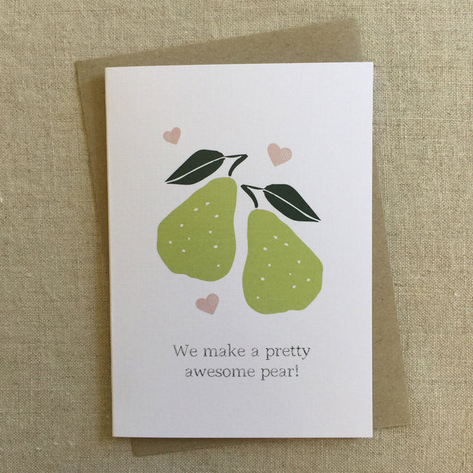 Awesome Pear Card