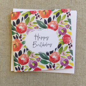 Petit Birthday Field Card