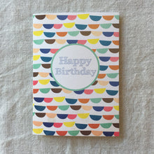 Load image into Gallery viewer, Bunting Birthday Card