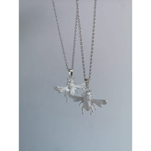 Bees Knees Necklace in Sterling Silver