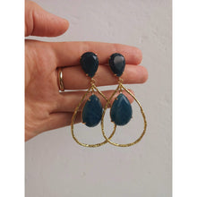 Load image into Gallery viewer, Jaded Bluebird Earrings