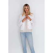 Load image into Gallery viewer, Isabella Linen Jacket - White