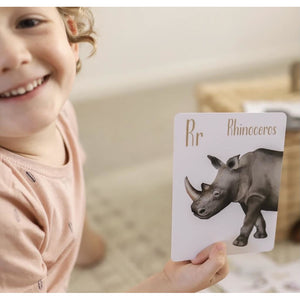 Animal Alphabet Flash Cards