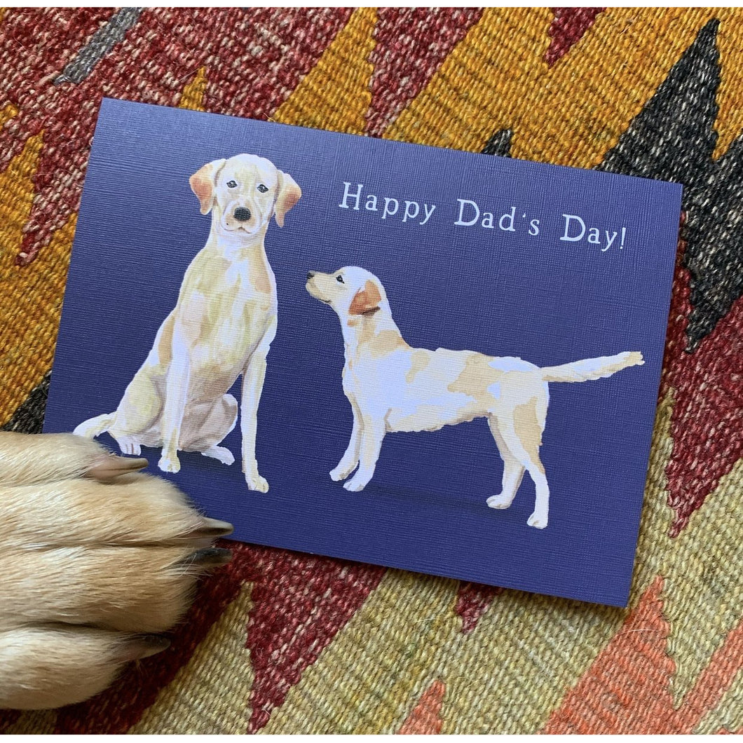 Doggy Dad's Day Card