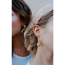 Load image into Gallery viewer, Olive Leaf Earrings in 18KT Gold Plated