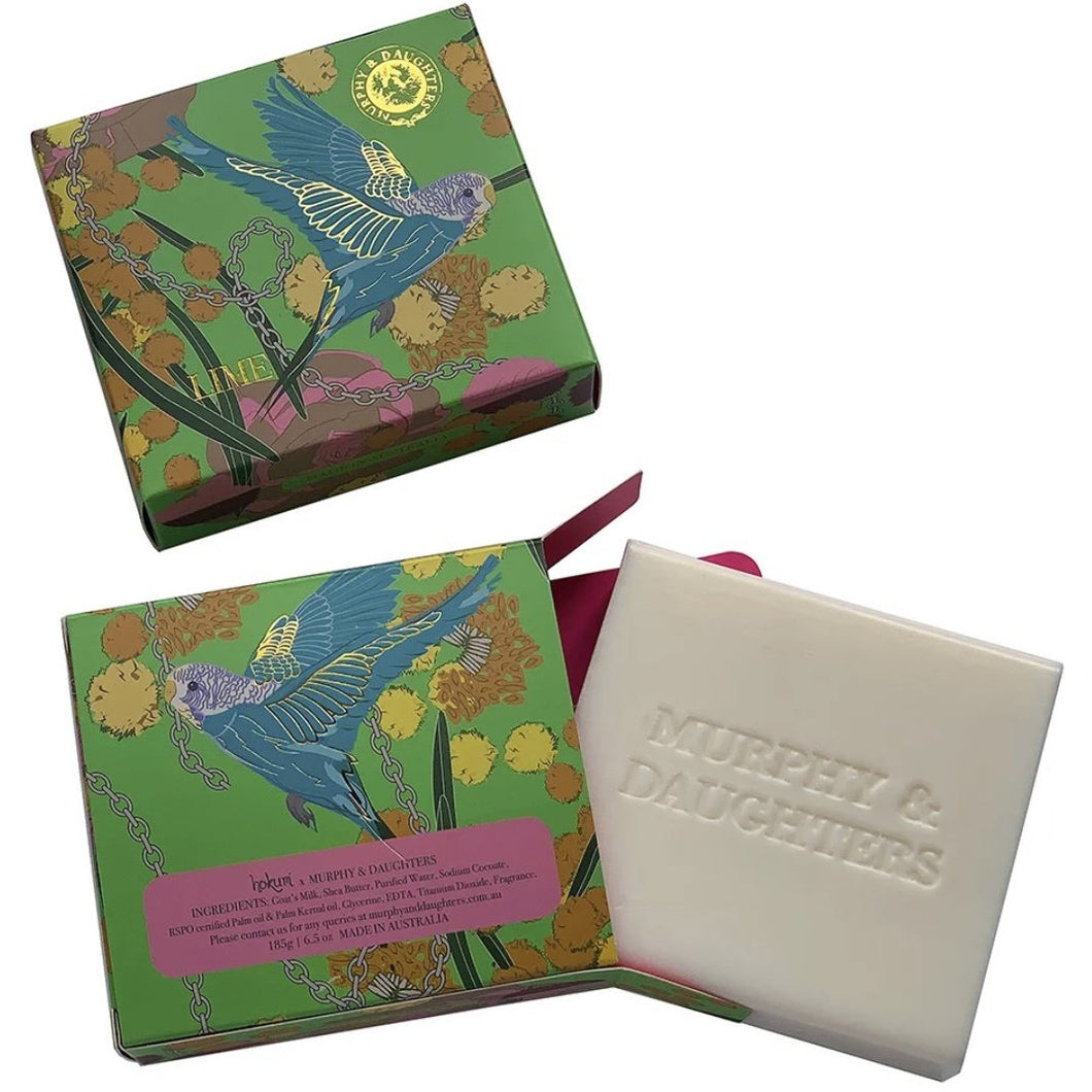 Boxed Soap - Lime