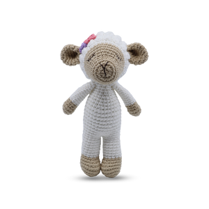 Lamb - Shaker Mini Standing Toy