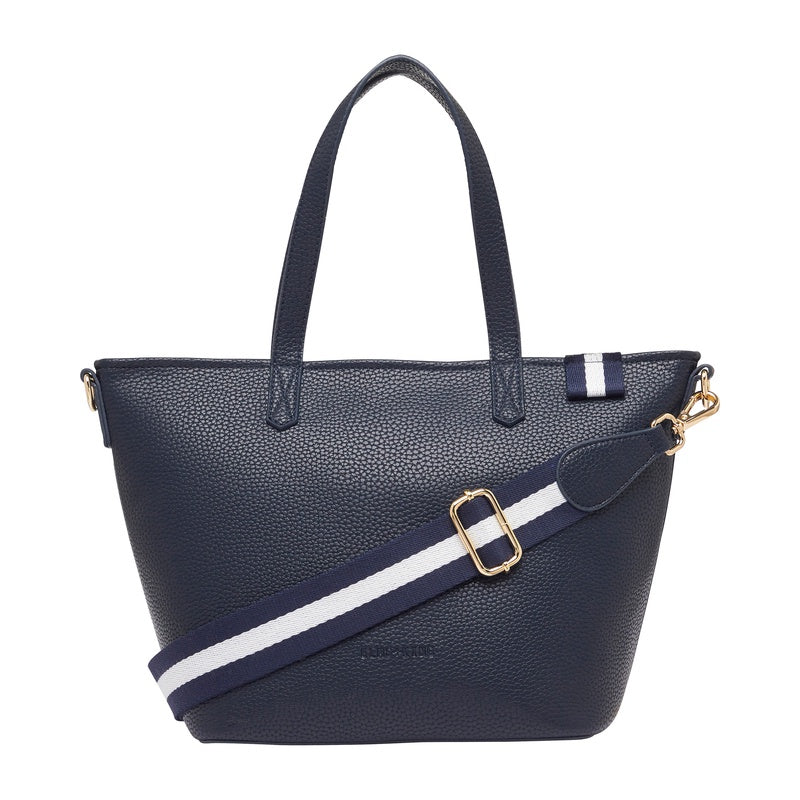 New York Zip Tote - French Navy