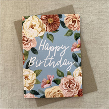 Load image into Gallery viewer, Birthday Rose Card