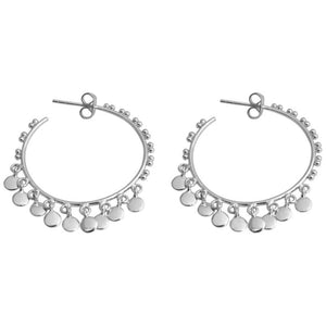 Isabella Hoops Silver