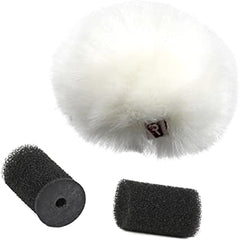 Rycote Single Ristretto Lavalier Windjammer, White (SKU: 065557)