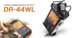 Tascam DR-44WL Portable Handheld Recorder with WiFi