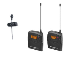 Sennheiser EW122P-G3 Wireless Clip-on Microphone System for Camera