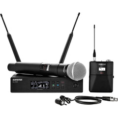 Shure QLXD124/85 Handheld and Lavalier Combo Digital Wireless Microphone System
