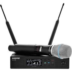 Shure QLXD24/B87A Digital Wireless Handheld Microphone System