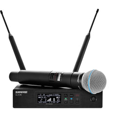 Shure QLXD24/B58 Digital Wireless Handheld Microphone System