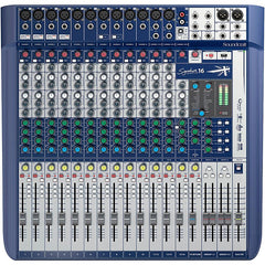Soundcraft Signature 16 Mixer with Lexicon Effects