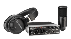 Steinberg UR22 MKII Recording Pack with Interface, Cubase software, Headphone & Microphone