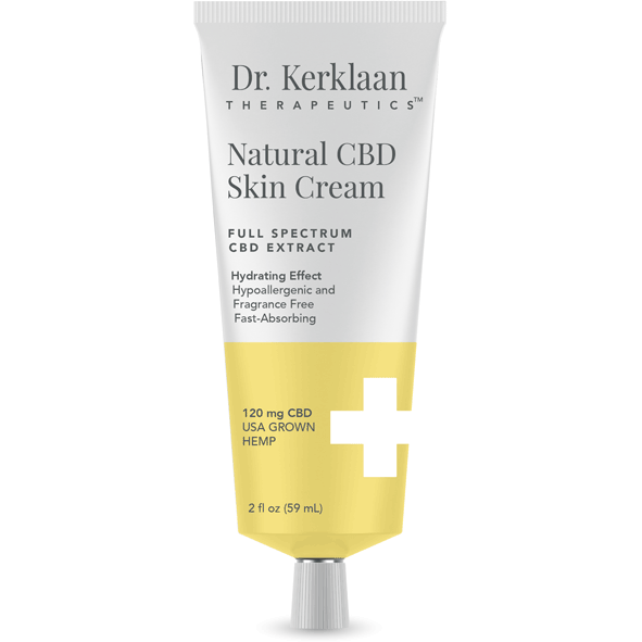 Dr. Kerklaan - Natural CBD Skin Cream (120mg CBD)