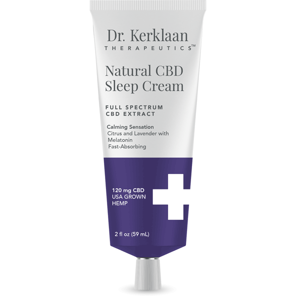 Dr. Kerklaan - Natural CBD Sleep Cream (120mg CBD) - Dr. Kerklaan - The CBD Market - Buy CBD Online