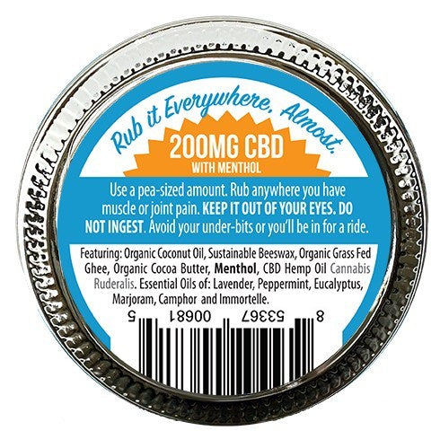 Jambo - Muscle Balm - Extra Strength (200mg CBD) - Jambo Superfoods - The CBD Market - Buy CBD Online