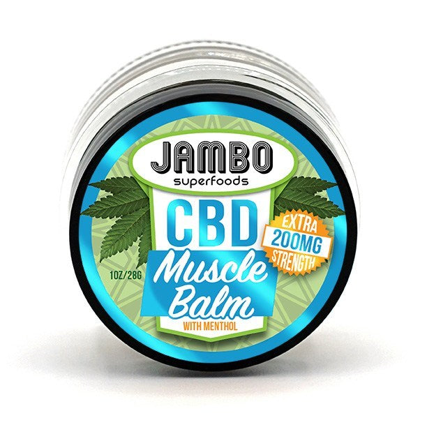 Jambo - Muscle Balm - Extra Strength (200mg CBD)