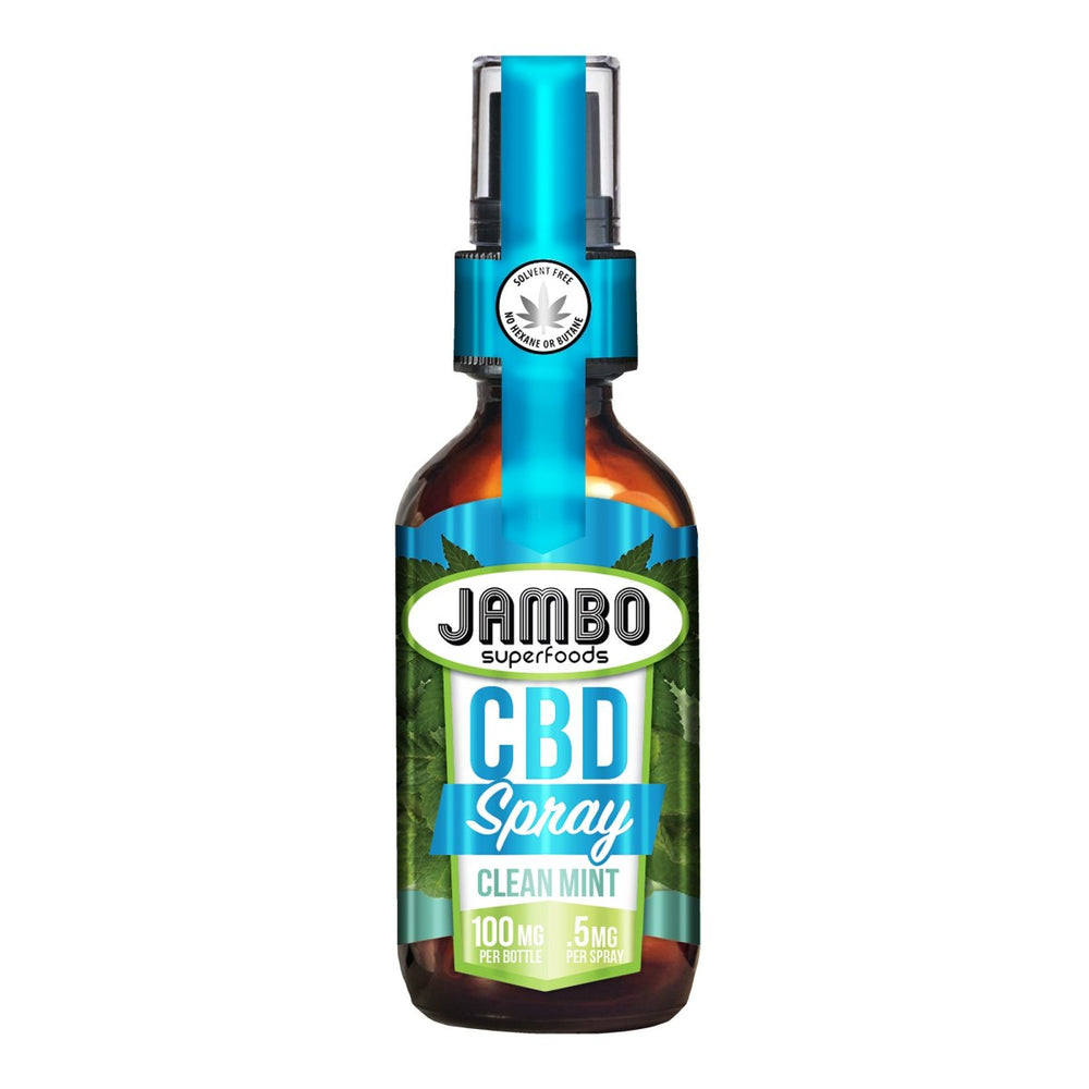 Jambo - Spray - Mint (100mg CBD) - Jambo Superfoods - The CBD Market - Buy CBD Online