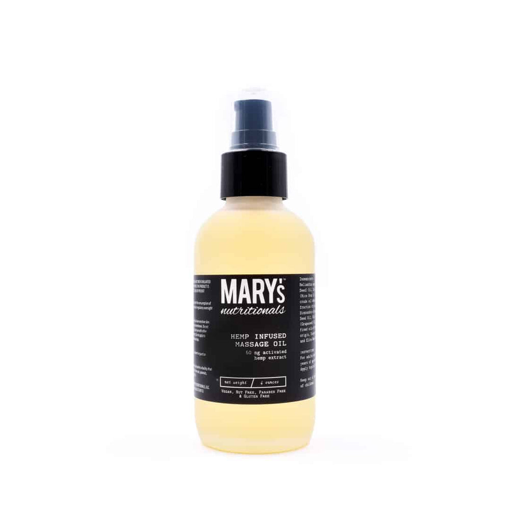 Mary's - Massage Oil (50mg CBD) - Mary's Nutritionals - The CBD Market - Buy CBD Online