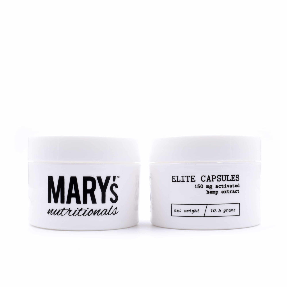 Mary's - Elite Capsules (150mg CBD) - Mary's Nutritionals - The CBD Market - Buy CBD Online
