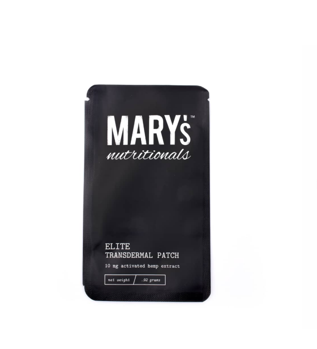 Mary's - Elite Transdermal Patch (10mg CBD) - Mary's Nutritionals - The CBD Market - Buy CBD Online