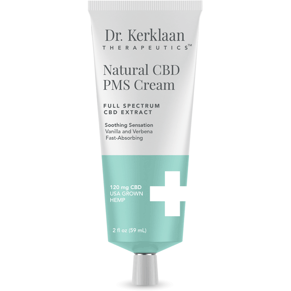 Dr. Kerklaan - Natural CBD PMS Cream (120mg CBD) - The CBD Market