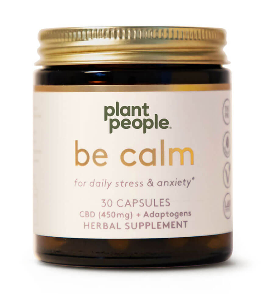 Plant People - Be Calm Capsules (450mg CBD)