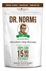 Dr. Norm's - Chocolate Chip Cookies (150mg CBD)